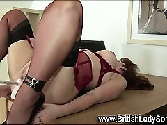 Watch brit stockings grey..