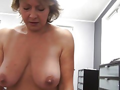 Czech grown-up POV 53yo blowjob..