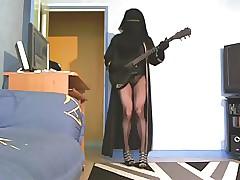 rockeuse musulmane en niqab