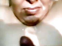 Indian Aunty Blowjob Together..