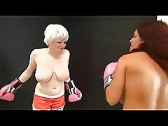 Scarlett vs Goldie Go-go..