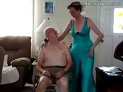 Superannuated granny stripts