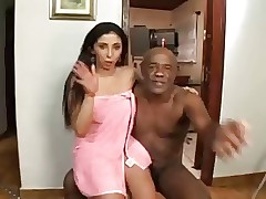 Brazilian Milf analled off out..