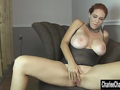 Sex-mad MILF Charlee Chase's..