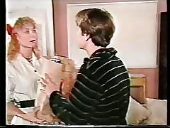 Young Nina Hartley doing anal..
