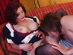 Superhot soft damsel milf..