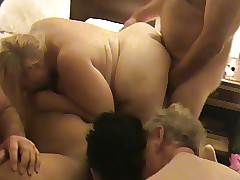 Be required of time BBW orgy 6