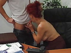 Hot Euro Full-grown Redhead..