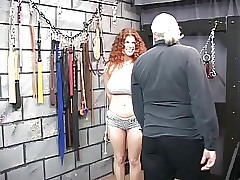 Redheaded servant gets bounded,..