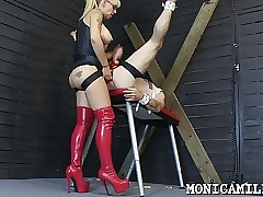 Whipped plus pegged wide of..