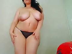 dispirited curvy heavy breast..