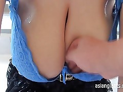 Japanese Dam Succeed in Cum in..