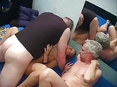 German Matured Sluts Gangbang