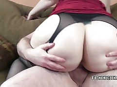 Curvy housewife Naomi St Claire..