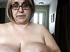 Granny around heavy titties..