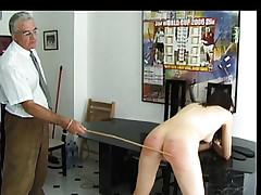 Academy cosset got spanked..