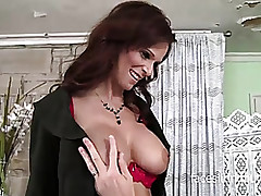 Fabulous milf with respect to..