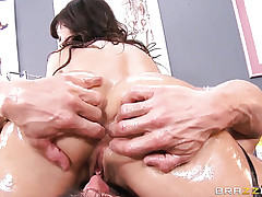 Lisa Ann is a heavy titted..