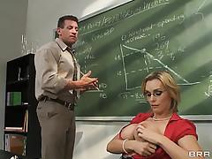 Luring school alongside fat..
