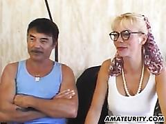 Dilettante Milf anal pretend to..
